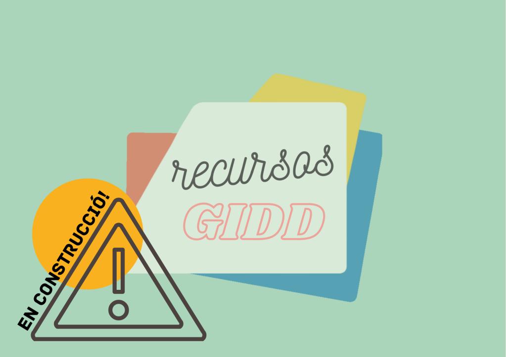 Recursos GIDD (En construcció)